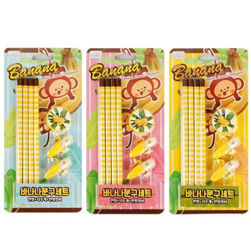 1000 바나나문구세트 신학기 초등학교입학선물 유치원어린이집졸업선물
