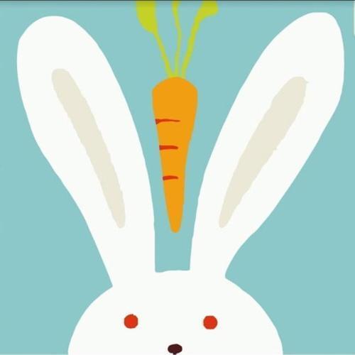 아이윙스 피포페인팅 GM205 토끼와당근 30x30 DIY명화그리기 셀프페인팅