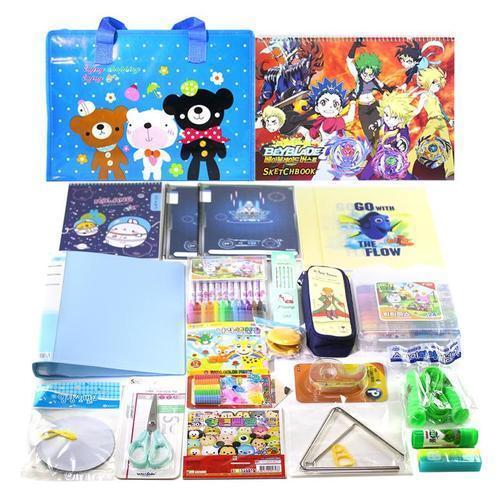 아이윙스 베스트 종합문구세트 1호 남아용 초등학교입학선물 유치원어린이집졸업선물