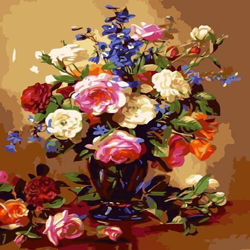 아이윙스 40000 피포페인팅 B475 꽃의요정 DIY명화그리기