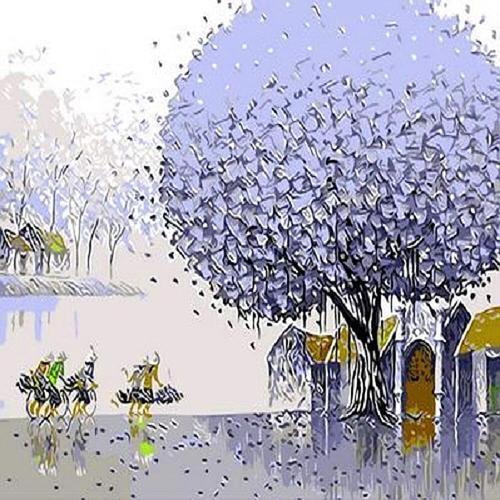 아이윙스 40000 피포페인팅 Q484 행운의나무 시리즈 DIY명화그리기