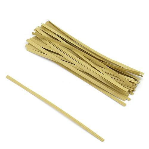 아이윙스 1000 페이퍼타이(40개) 크라프트 빵끈 포장끈
