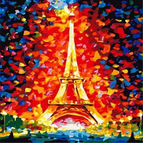 아이윙스 40000 피포페인팅 b52 에펠탑 diy명화그리기