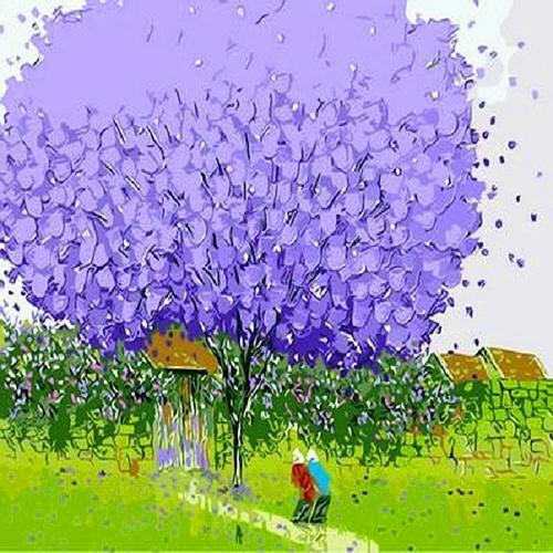 아이윙스 40000 피포페인팅 q482 행운의나무시리즈 diy명화그리기