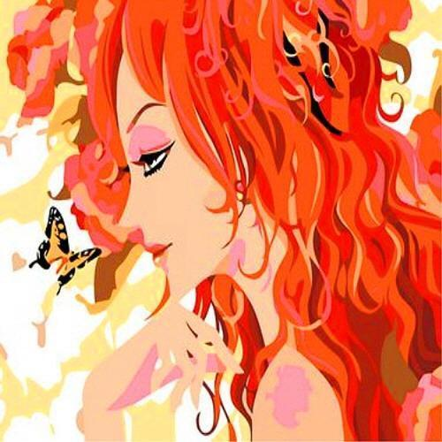 아이윙스 35000 피포페인팅 e013 나비와여인 diy명화그리기