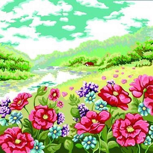 아이윙스 40000 피포페인팅 b297 여름테마시리즈 diy명화그리기 diy그림그리기