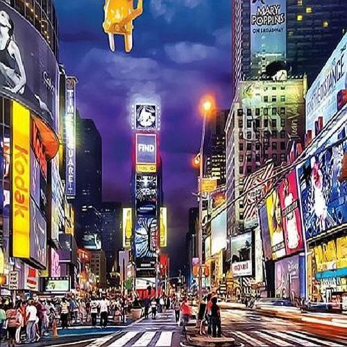 아이윙스 40000 피포페인팅 q4029 뉴욕 타임스퀘어 diy명화그리기 diy그림그리기