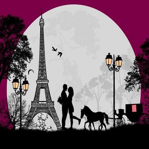 아이윙스 40000 피포페인팅 q3042 달아래 에펠탑 diy명화그리기 diy그림그리기