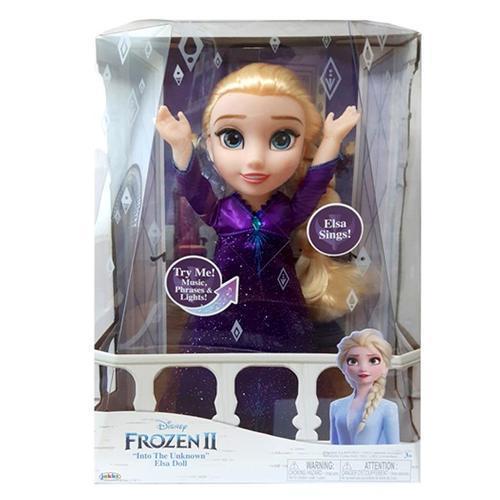 아이윙스 110000 디즈니 겨울왕국2 노래하는 엘사 구체관절인형