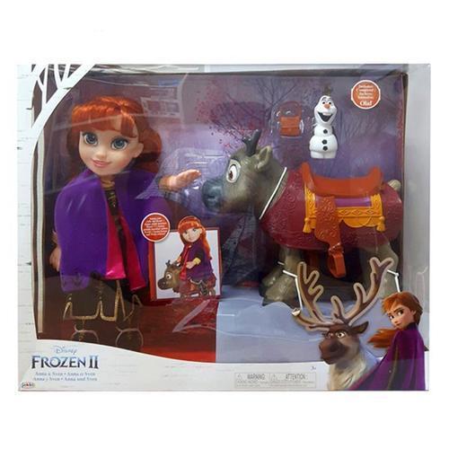 아이윙스 140000 디즈니 겨울왕국2 안나와 스벤 구체관절인형