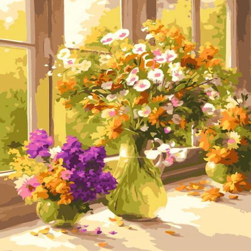 아이윙스 35000 피포페인팅 b612 가을수채화 diy명화그리기 diy그림그리기