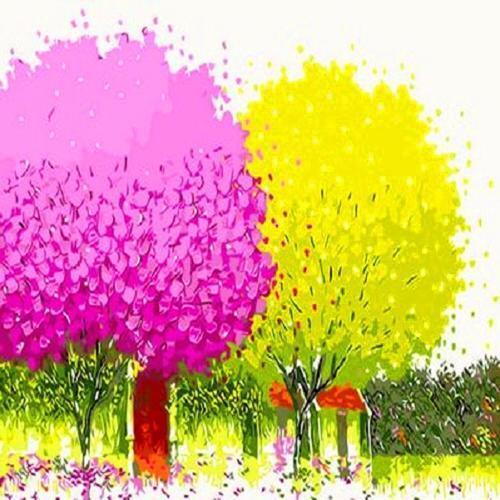 아이윙스 40000 피포페인팅 q466 행운의나무시리즈 diy명화그리기 diy그림그리기