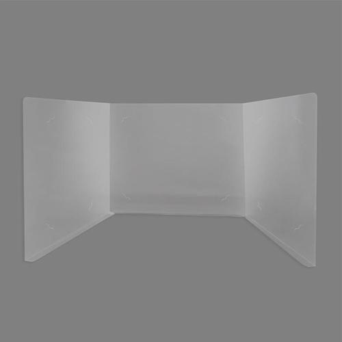 아이윙스 5500 고투명 3단 책상가림판 2개 빅사이즈 블라인드화일 가림막 비말방지