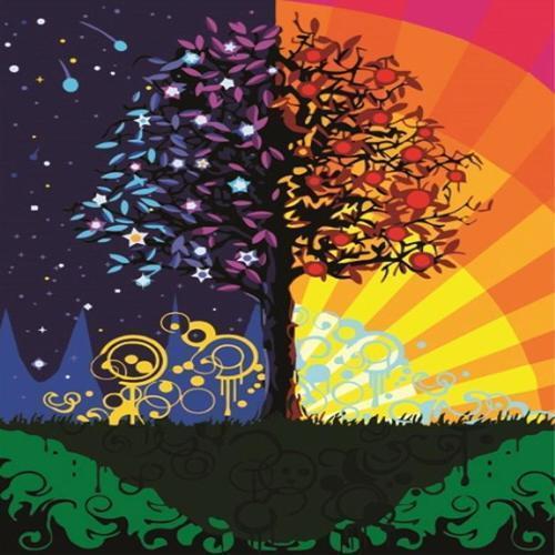 아이윙스 35000 피포페인팅 b270 부자가되는 트리 해와달빛풍경 diy명화그리기 diy그림그리기
