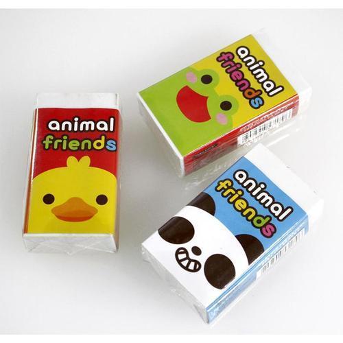 아이윙스 500 동물왕지우개 어린이집 유치원 단체선물