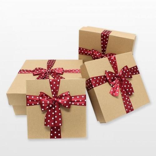 아이윙스 7500 뷰티리본 크라프트 선물상자 포장박스