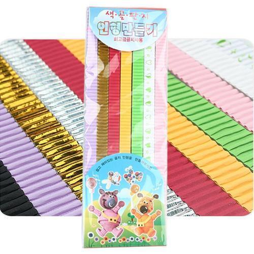 아이윙스 1000 색골판지 인형만들기 골지공예