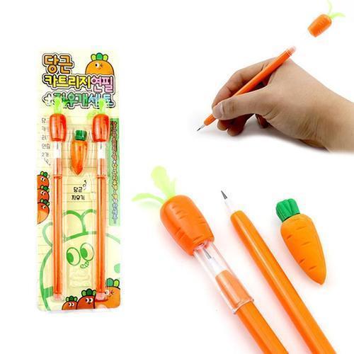 아이윙스 1000 당근카트리지연필 문구세트 답례품 단체선물