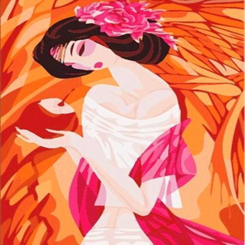 아이윙스 피포페인팅 e150 사과와 여인 diy명화그리기 diy그림그리기
