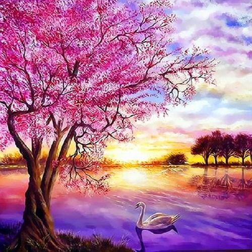 아이윙스 피포페인팅 q3303 봄테마 diy명화그리기 diy그림그리기