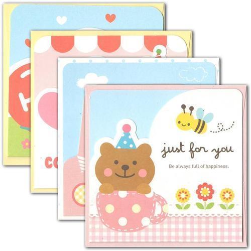 아이윙스 500 바른손 동물모양 팝업축하카드c 생일카드