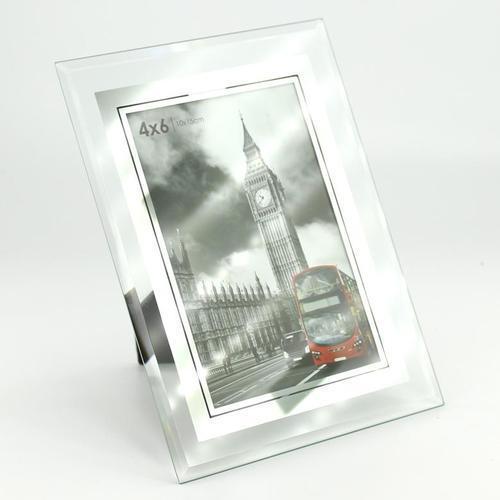 아이윙스 유리 고급액자 4X6inch 사진액자 탁상용액자 벽걸이용
