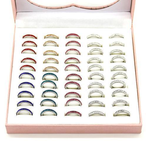 아이윙스 1000 크리스탈 가드 반지 (50개입) 패션반지