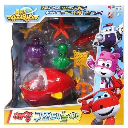 아이윙스 슈퍼윙스 해양구조대 유아동 장난감놀이선물