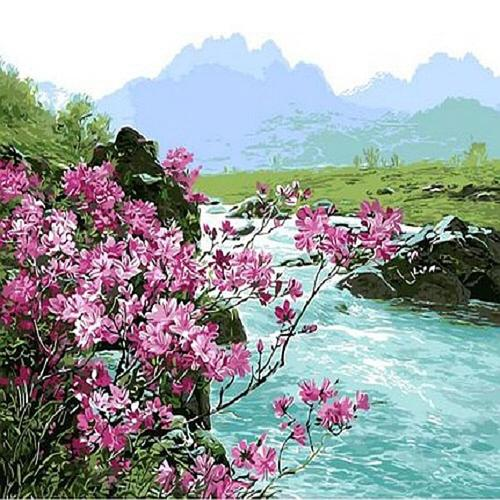 아이윙스 피포페인팅 q3424 여름테마시리즈 diy명화그리기 diy그림그리기