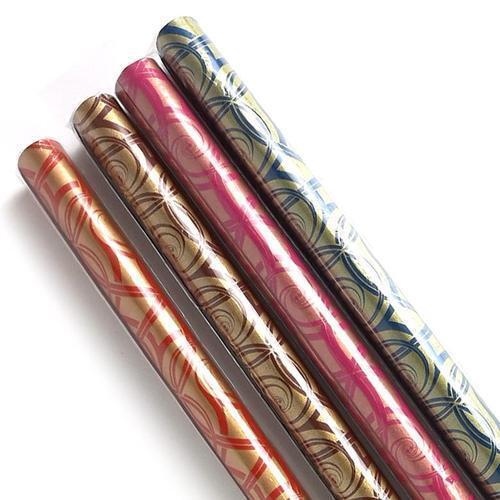 아이윙스 롤포장지 덩굴무늬 53cm x 75cm 5개입 선물포장지