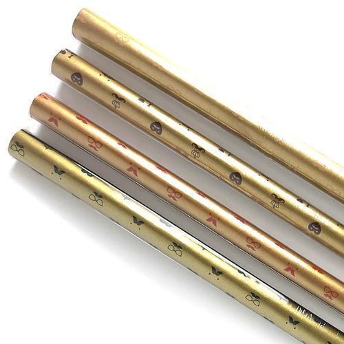 아이윙스 800 롤포장지 수염하트무늬 53cm x 75cm 5개입 선물포장지