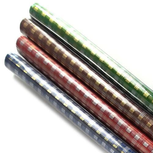 아이윙스 800 롤포장지 체크무늬 53cm x 75cm 5개입 선물포장지