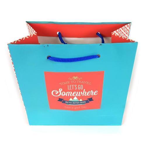 아이윙스 1200 빈티지 컬러 종이 쇼핑백 4개입 종이가방