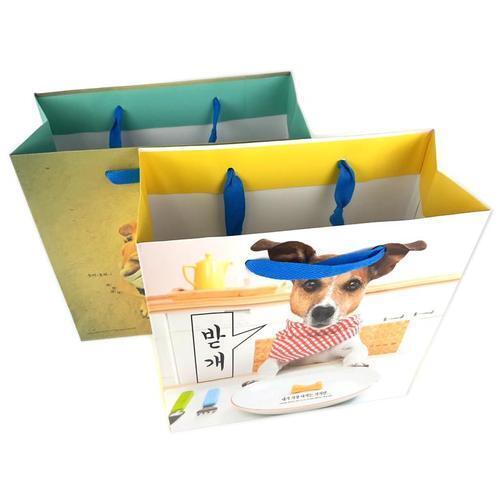아이윙스 1500 개톡 종이 쇼핑백 4개입 종이가방