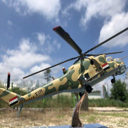 아이윙스 iwp mi-24 하인드 hind 러시아 공격헬기 헬리콥터 모형
