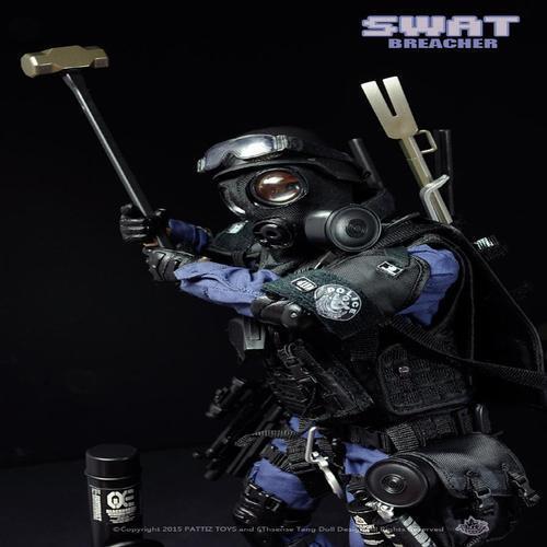 아이윙스 iwp 경찰특공대 경특 swat nx02 breacher 격파돌격대원
