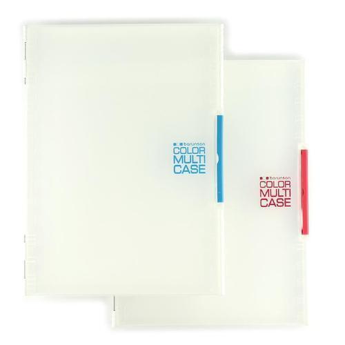 아이윙스 4000 바른손 a4 칼라 멀티 투명 화일케이스 파일박스
