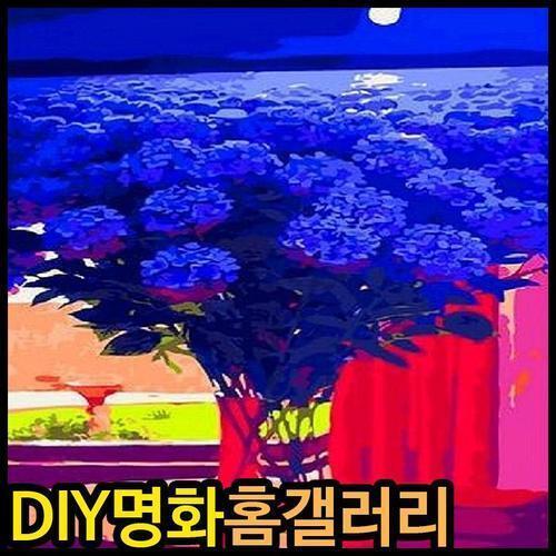아이윙스 피포페인팅 Q2298 피그먼타이즈드 플라워 DIY명화그리기 DIY그림그리기