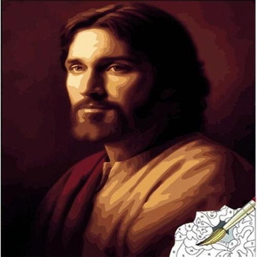 아이윙스 피포페인팅 J002 예수 그리스도 DIY명화그리기 DIY그림그리기