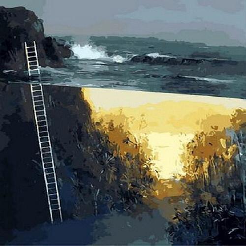 아이윙스 피포페인팅 Q1325 Bridge of Sea  DIY명화그리기 DIY그림그리기