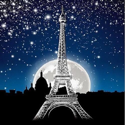 아이윙스 피포페인팅 Q3543 에펠탑 DIY명화그리기 DIY그림그리기