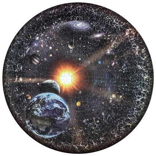 아이윙스 원형직소퍼즐 우주 갤럭시 1000피스퍼즐 우주시리즈 사진퍼즐