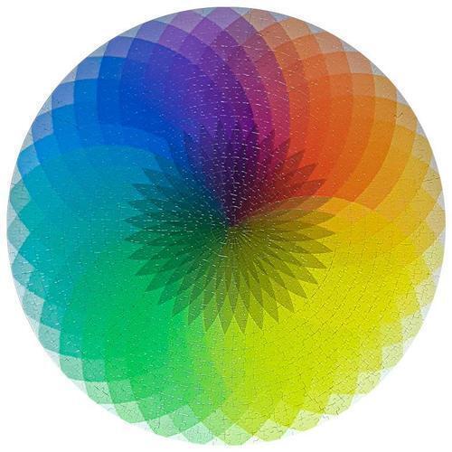 아이윙스 원형직소퍼즐 타오르는빛깔 1000피스퍼즐 우주시리즈 사진퍼즐