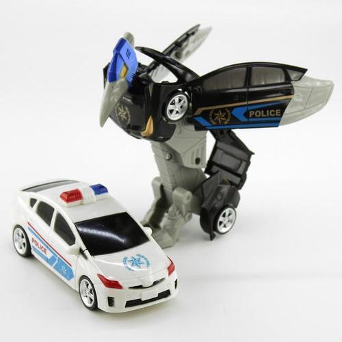 아이윙스 8000 긴급출동 경찰차 변신로봇