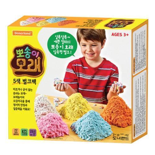 아이윙스 60000 뽀송이 모래 5색 벌크팩 모래놀이