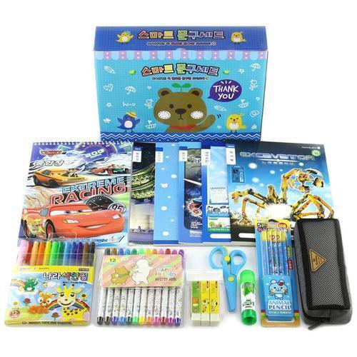아이윙스 스마트 종합문구세트 1호 초등학교입학선물세트 유치원어린이집졸업선물