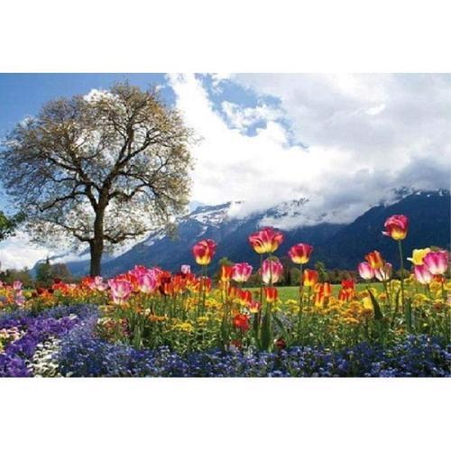 아이윙스 피포페인팅 Q5935 스위스 튤립가든 DIY명화그리기 DIY그림그리기