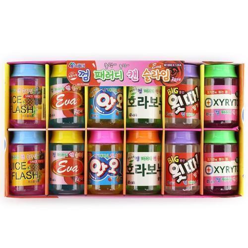 아이윙스 1000 토이파크 껌 패러디 캔 슬라임 (12개)