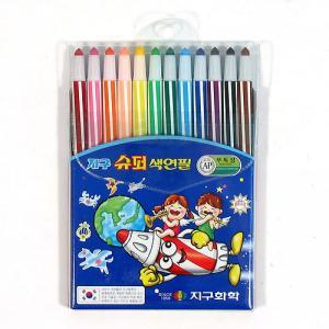3000슈퍼지구 색연필(12색)