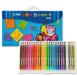 지구25색 투명이색연필